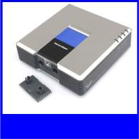 Buy cheap Unlocked linksys pap2-NA gateway 2 FXS ports voip adapter free calling from wholesalers