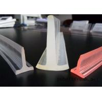 Buy cheap Conveyor Belt Skirt Guide-T profile PU Extruded   belt Polyurethane PU T Profile conducting bar extrusion baffle Textile from wholesalers