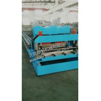 Buy cheap corrugated sheet Roof Tile Roll Forming Machine with Hydraulic Station 15m/min from wholesalers