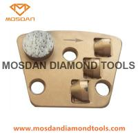 Buy cheap Iron Horse Trapezoid PCD Concrete Grinding Shoe for Epoxy Removal from wholesalers