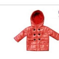 Buy cheap Custom Pink Toddlers Fleece Padded Jackets kids winter coats sale With Hood from wholesalers