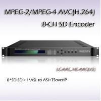 Buy cheap IPTV SD-SDI MPEG-2/H.264 8 IN 1 SD Encoder low delay encoding RES2308 from wholesalers