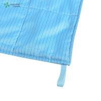 Buy cheap Anti Static ESD Wipe blue color with Microfiber for class 1000 or higher cleanroom from wholesalers