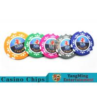 Wholesale High Precision Casino Poker Chip Set / Poker Table Set For Gambling Games from china suppliers