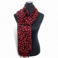 Buy cheap 70-inch Fashion Pashmina Shawl, 2009's Fresh Design, Meet Very Hot Demand in Multiple Markets from wholesalers