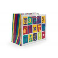 Buy cheap Boutique Extra Large Gift Wrap Bags Sandblasting Alphabet Eco - Friendly from wholesalers