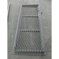 Double Opening Square Angle Marine Wire Mesh Door 8 mm Thickness Manufactures