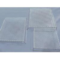 Buy cheap Bbq Flattened Expanded Wire Mesh Grill Deep Processing 4.6mm Strand Width from wholesalers