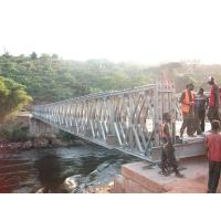 Buy cheap Timber Deck Bailey Steel Truss Bridge Compact With Single Lane from wholesalers