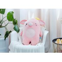 Wholesale Crown Cute Pig Cuddly Toy , Mascot Plush Toys 45-55cm Size For Girlfriend Gift from china suppliers