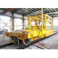 Buy cheap Copper plant using transport flat coil handing cart on railway exported to Chile from wholesalers