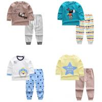 Buy cheap New Arrived wholesale Animal patterns long sleeve kids clothing set from wholesalers