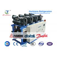 R404a Air Cooled Screw Chiller Tuna Fish -50 Centigrade Cooling Manufactures