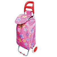 Buy cheap Lightweight Foldable Laundry / Shopping Trolley Cart Rolling Push Dolly with Tote from wholesalers