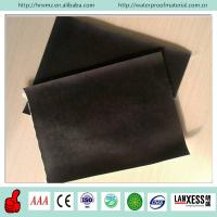 China Smooth surface rubber EPDM waterproof membrane on sale