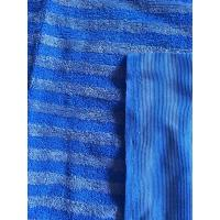 Buy cheap 160cm Width Warp Knitting Blue Eight Grid Microfiber Cleaning Cloth SGS product