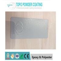 Buy cheap Ral7032 texture electrostatci Polyester Resin Coating / Super Durable Powder Coating from wholesalers