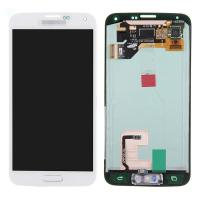 Buy cheap For Samsung Galaxy S5 SM-G900/G900A/G900V/G900P/G900R4 LCD and Digitizer Assembly with Home Button - White - Grade A+ from wholesalers