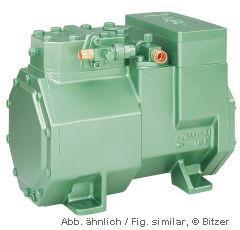 2KES-05Y(2KC-05.2) Bitzer environmental refrigerant semi-hermetic refrigeration compressor chillers, cold storage,AC Manufactures