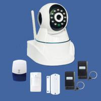 Buy cheap GSM alarm IP camera system supporting TCP/IP internet protocol built-in web server from wholesalers