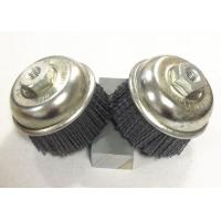 Buy cheap 3 Inch OD Nylon Abrasive Cup Brush , Silicon Carbide Nylon Bristle Brush from wholesalers