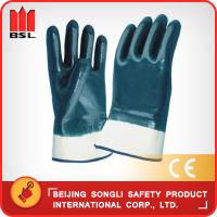 Buy cheap SLG-N01 Nitrile coat working gloves from wholesalers
