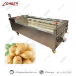 Buy cheap Potato Washing And Peeling Machine|Potato Peeling Machine|Potato Washing and Peeling Machine|Automatic Potato Peeler from wholesalers