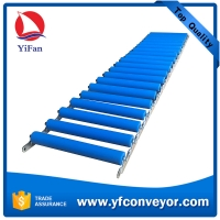 Buy cheap Foldable Gravity Floor Roller Conveyor product