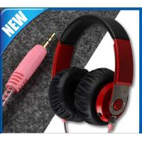 Wholesale Lightweight Wired Over-Ear Head Stereo Headset &Soft Leather Ear Cups (MO-SH003) from china suppliers