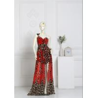 Sleeveless Halter Backless Sexy Evening Gowns , Women's Floor Length Dresses Manufactures