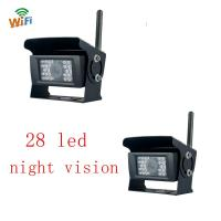 Buy cheap WIFI Wireless Backup Camera 28 LED Lights For Truck Reversing System from wholesalers