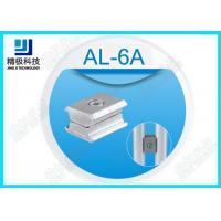 Buy cheap Alloy Parallel Pipe Fitting Aluminum Tubing Joints For Working table , Surface Oxidation AL-6A from wholesalers