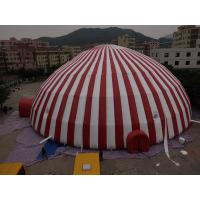 Buy cheap Commercial 500 People Inflatable Dome Tent / Large Inflatable Marquee Tent from wholesalers