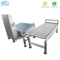 Buy cheap High Performance Weight Checking Machine / Auto Conveyor Belt Checkweigher from wholesalers