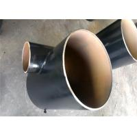 Buy cheap Carbon Steel SCH80 Seamless Pipe Tee , Metal Pipe Fittings Anti Grinding from wholesalers