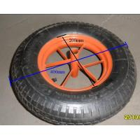 Buy cheap rubber wheel for wheelbarrow from wholesalers