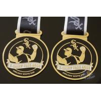 Wholesale Toss Metal Awards Custom Sports Medals Bespoke Design Sublimated Ribbon from china suppliers