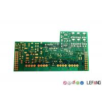 Wholesale Industrial System High TG PCB FR - 4 Base Material / Dielectric Green Solder Mask from china suppliers