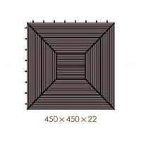 Buy cheap WX23 Popular Click-Deck Composite Decking Tiles for Patio, Balcony, Roof Terrace, Hot Tub Deck Tiles Flooring Decking from wholesalers
