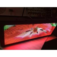 Buy cheap Great effect Taxi LED Display / multi - color taxi digital advertising electronic from wholesalers