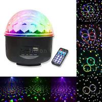 Buy cheap 6pcs Star Gobo Effect USB MP3 Remote Controller LED Crystal Magic Ball Light from wholesalers