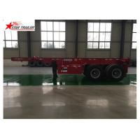 Buy cheap High Strength 40 Foot Trailer , Strong Trailer Frame Container Skeletal Trailers product