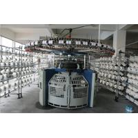 Buy cheap Four Tracks Technical Fabric Knitting Machine 3F 3.2F 4F Wide Needle Butt Design from wholesalers