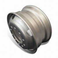 Buy cheap 22.5 x 9.00 and 8 x 16mm Tubeless Wheel for Heavy Duty Truck Trailer/Tractor from wholesalers