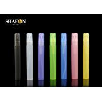Buy cheap Cylindrical Colorful Small Perfume Bottles Pen 10ml With Lid Silk Screen Printing from wholesalers