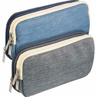 Buy cheap Durable Zip Up Pencil Case With Compartments , Students Stationery Pencil Pouch from wholesalers