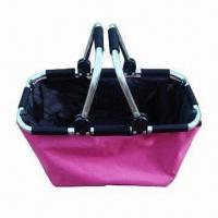 Buy cheap Shopping Basket, Available with Aluminum Frame, Measures 48 x 30 x 52cm product