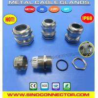 Buy cheap Liquid-tight IP68 Metal / Brass Cable Glands with NPT & G Threads from wholesalers