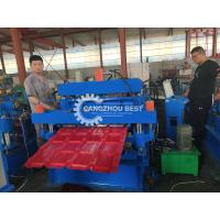 Buy cheap Double Layer Metal Sheet Forming Machine For Corrugated And IBR Steel Roofing from wholesalers