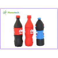 Buy cheap Pepsi bottles PVC Customized USB Flash Drive / gift Personalised Usb Memory Stick from wholesalers